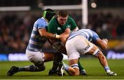 10 November 2018; Tadhg Furlong of Ireland in action against Matias Alemanno, left, and Javier Ortega Desio of Argentina during the Guinness Series International match between Ireland and Argentina at the Aviva Stadium in Dublin. Photo by Ramsey Cardy/Sportsfile