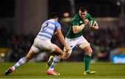 10 November 2018; Peter O'Mahony of Ireland in action against Jeronimo de la Fuente of Argentina during the Guinness Series International match between Ireland and Argentina at the Aviva Stadium in Dublin. Photo by Ramsey Cardy/Sportsfile