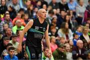 10 November 2018; Kieran Donaghy of Garvey's Tralee Warriors during the Basketball Ireland Men's Superleague match between Garvey's Tralee Warriors and Belfast Star at Tralee Sports Complex in Tralee, Co Kerry. Photo by Piaras Ó Mídheach/Sportsfile