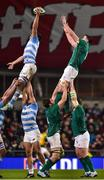 10 November 2018; James Ryan of Ireland loses the ball in the lineout against Javier Ortega Desio of Argentina during the Guinness Series International match between Ireland and Argentina at the Aviva Stadium in Dublin. Photo by Matt Browne/Sportsfile