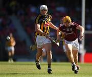 11 November 2018; Davy Glennon of Galway in action against Conor Browne of Kilkenny during the Wild Geese Cup match between Galway and Kilkenny at Spotless Stadium in Sydney, Australia. Photo by Ray McManus/Sportsfile