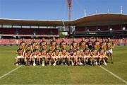 11 November 2018; The Kilkenny squad before the Wild Geese Cup match between Galway and Kilkenny at Spotless Stadium in Sydney, Australia. Photo by Ray McManus/Sportsfile