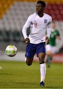 8 November 2018; Yunus Musah of England during the U17 International Friendly match between Republic of Ireland and England at Tallaght Stadium in Tallaght, Dublin. Photo by Brendan Moran/Sportsfile