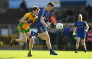 11 November 2018; David Connaughton of Clann na nGael in action against Ciaran Brady of Corofin during the AIB Connacht GAA Football Senior Club Championship semi-final match between Clann na nGael and Corofin at Dr. Hyde Park in Roscommon. Photo by Ramsey Cardy/Sportsfile