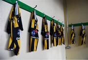 11 November 2018; The St Peter's Dunboyne dressing-room ahead of the AIB Leinster GAA Football Senior Club Championship Round 1 match between St Peter's Dunboyne and Kilmacud Crokes at Páirc Tailteann in Navan, Co. Meath. Photo by Daire Brennan/Sportsfile