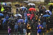 11 November 2018; Spectators look on during the AIB Munster GAA Football Senior Club Championship semi-final match between Dr Crokes and St Finbarr's at Dr Crokes GAA, in Killarney, Co. Kerry. Photo by Piaras Ó Mídheach/Sportsfile