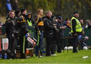 11 November 2018; Colm Cooper of Dr Crokes looks on from the sideline during the AIB Munster GAA Football Senior Club Championship semi-final match between Dr Crokes and St Finbarr's at Dr Crokes GAA, in Killarney, Co. Kerry. Photo by Piaras Ó Mídheach/Sportsfile