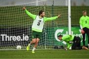 12 November 2018; Harry Arter during Republic of Ireland training at the FAI National Training Centre in Abbotstown, Dublin. Photo by Stephen McCarthy/Sportsfile
