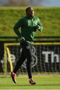 12 November 2018; Michael Obafemi during a Republic of Ireland training session at the FAI National Training Centre in Abbotstown, Dublin.  Photo by Stephen McCarthy/Sportsfile