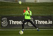 12 November 2018; Caoimhin Kelleher during a Republic of Ireland training session at the FAI National Training Centre in Abbotstown, Dublin.  Photo by Stephen McCarthy/Sportsfile