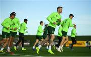 13 November 2018; James McClean during a Republic of Ireland training session at the FAI National Training Centre in Abbotstown, Dublin. Photo by Stephen McCarthy/Sportsfile