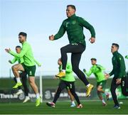 13 November 2018; Aiden O'Brien during a Republic of Ireland training session at the FAI National Training Centre in Abbotstown, Dublin. Photo by Stephen McCarthy/Sportsfile