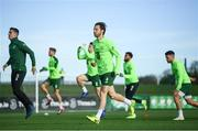 13 November 2018; Harry Arter during a Republic of Ireland training session at the FAI National Training Centre in Abbotstown, Dublin. Photo by Stephen McCarthy/Sportsfile