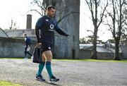 13 November 2018; Cian Healy arrives for Ireland rugby squad training at Carton House in Maynooth, Co. Kildare. Photo by Ramsey Cardy/Sportsfile