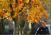 13 November 2018; Rob Kearney arrives for Ireland rugby squad training at Carton House in Maynooth, Co. Kildare. Photo by Ramsey Cardy/Sportsfile