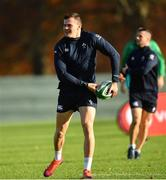 13 November 2018; Jacob Stockdale during Ireland rugby squad training at Carton House in Maynooth, Co. Kildare. Photo by Ramsey Cardy/Sportsfile