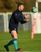 13 November 2018; Rob Kearney during Ireland rugby squad training at Carton House in Maynooth, Co. Kildare. Photo by Ramsey Cardy/Sportsfile