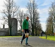 13 November 2018; Devin Toner arrives for Ireland rugby squad training at Carton House in Maynooth, Co. Kildare. Photo by Ramsey Cardy/Sportsfile