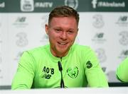 13 November 2018; Aiden O'Brien during a Republic of Ireland press conference at the FAI National Training Centre in Abbotstown, Dublin. Photo by Stephen McCarthy/Sportsfile