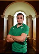 13 November 2018; Jacob Stockdale poses for a portrait following an Ireland rugby press conference at Carton House in Maynooth, Co. Kildare. Photo by Ramsey Cardy/Sportsfile
