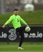 14 November 2018; Scott Hogan during a Republic of Ireland training session at the FAI National Training Centre in Abbotstown, Dublin. Photo by Stephen McCarthy/Sportsfile