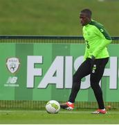 14 November 2018; Michael Obafemi during a Republic of Ireland training session at the FAI National Training Centre in Abbotstown, Dublin. Photo by Stephen McCarthy/Sportsfile