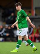 14 November 2018; Louis Barry of Republic of Ireland during the U16 Victory Shield match between Republic of Ireland and Wales at Mounthawk Park in Tralee, Kerry. Photo by Brendan Moran/Sportsfile