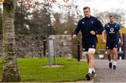 15 November 2018; Josh van der Flier arrives at Ireland Rugby squad training at Carton House in Maynooth, Co. Kildare. Photo by Harry Murphy/Sportsfile