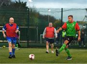 15 November 2018; Players in action during the Walking football festival at Irishtown Stadium in Ringsend, Dublin. Photo by Eóin Noonan/Sportsfile