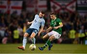 15 November 2018; Seamus Coleman of Republic of Ireland in action against Stuart Dallas of Northern Ireland during the International Friendly match between Republic of Ireland and Northern Ireland at the Aviva Stadium in Dublin. Photo by Stephen McCarthy/Sportsfile