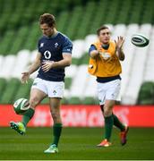 16 November 2018; Kieran Marmion during the Ireland Rugby Captain's Run at the Aviva Stadium in Dublin. Photo by David Fitzgerald/Sportsfile