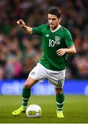 15 November 2018; Robbie Brady of Republic of Ireland during the International Friendly match between Republic of Ireland and Northern Ireland at the Aviva Stadium in Dublin. Photo by Stephen McCarthy/Sportsfile