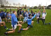 17 November 2018; Dublin All-Ireland winner and All-Star Paul Mannion puts the Ballyboden under 13 boys' football team through their paces. The team were selected as winners of the John West competition as part of their sponsorship of the Feile. John West has sponsored the Feile since 2016 and throughout the sponsorship, John West has focused on encouraging children to participate in Gaelic Games while emphasising the importance natural protein plays in fuelling a young athlete. Pictured is Paul Mannion leading the warm down with players after the  John West Training Session with Paul Mannion at Ballyboden St Endas GAA in Ballyboden, Dublin. Photo by Eóin Noonan/Sportsfile