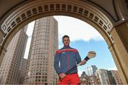 17 November 2018; Cork hurler Eoin Cadogan at the Boston Harbour Hotel prior to the Fenway Hurling Classic 2018 in Boston, MA, USA. Photo by Piaras Ó Mídheach/Sportsfile
