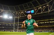 17 November 2018; CJ Stander of Ireland celebrates following the Guinness Series International match between Ireland and New Zealand at the Aviva Stadium in Dublin. Photo by David Fitzgerald/Sportsfile