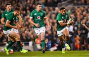 17 November 2018; Bundee Aki of Ireland during the Guinness Series International match between Ireland and New Zealand at the Aviva Stadium in Dublin. Photo by Ramsey Cardy/Sportsfile