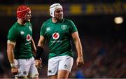 17 November 2018; Rory Best, right, and Josh van der Flier of Ireland during the Guinness Series International match between Ireland and New Zealand at the Aviva Stadium in Dublin. Photo by Ramsey Cardy/Sportsfile