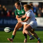 18 November 2018; Jennine Duncan of USA in action against Eimear Considine of Ireland during the Women's International Rugby match between Ireland and USA at Energia Park in Donnybrook, Dublin. Photo by Ramsey Cardy/Sportsfile