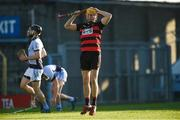 18 November 2018; Brian O'Sullivan of Ballygunner reacts after missing a goal-scoring opportunity during the AIB Munster GAA Hurling Senior Club Championship Final between Na Piarsaigh and Ballygunner at Semple Stadium in Thurles, Co. Tipperary. Photo by Diarmuid Greene/Sportsfile