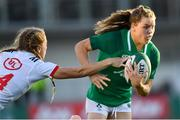 18 November 2018; Beibhinn Parsons of Ireland is tackled by Kelsi Stockert of USA during the Women's International Rugby match between Ireland and USA at Energia Park in Donnybrook, Dublin. Photo by Ramsey Cardy/Sportsfile