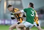 18 November 2018; Rian O'Neill of Crossmaglen Rangers in action against Neil McGee of Gaoth Dobhair during the AIB Ulster GAA Football Senior Club Championship semi-final match between Crossmaglen Rangers and Gaoth Dobhair at Healy Park in Omagh, Tyrone. Photo by Oliver McVeigh/Sportsfile