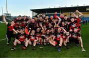 18 November 2018; The Ballygunner team celebrate with the cup after the AIB Munster GAA Hurling Senior Club Championship Final between Na Piarsaigh and Ballygunner at Semple Stadium in Thurles, Co. Tipperary. Photo by Diarmuid Greene/Sportsfile