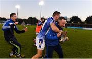 18 November 2018; Ballyboden St Enda's manager Joe Fortune, right, celebrates with Conal Keaney following the AIB Leinster GAA Hurling Senior Club Championship semi-final match between Ballyboden St Enda's and Coolderry at Parnell Park, in Dublin. Photo by Sam Barnes/Sportsfile