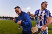 18 November 2018; Ballyboden St Enda's manager Joe Fortune, left, celebrates with Conal Keaney following the AIB Leinster GAA Hurling Senior Club Championship semi-final match between Ballyboden St Enda's and Coolderry at Parnell Park, in Dublin. Photo by Sam Barnes/Sportsfile