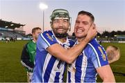 18 November 2018; David Curtin, left, and Conal Keaney of Ballyboden St Enda's celebrate following the AIB Leinster GAA Hurling Senior Club Championship semi-final match between Ballyboden St Enda's and Coolderry at Parnell Park, in Dublin. Photo by Sam Barnes/Sportsfile