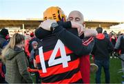 18 November 2018; Ballygunner manager Fergal Hartley celebrates with Brian O'Sullivan after the AIB Munster GAA Hurling Senior Club Championship Final between Na Piarsaigh and Ballygunner at Semple Stadium in Thurles, Co. Tipperary. Photo by Diarmuid Greene/Sportsfile