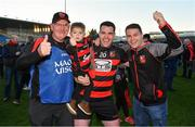 18 November 2018; Stephen Power of Ballygunner celebrates with his father Michael Power, nephew Mikey Power, and brother Michael Power Jr after the AIB Munster GAA Hurling Senior Club Championship Final between Na Piarsaigh and Ballygunner at Semple Stadium in Thurles, Co. Tipperary. Photo by Diarmuid Greene/Sportsfile