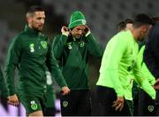 18 November 2018; David Meyler during a Republic of Ireland training session at Ceres Park in Aarhus, Denmark. Photo by Stephen McCarthy/Sportsfile