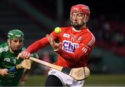 18 November 2018; Patrick Horgan of Cork in action against Richie English of Limerick during the Aer Lingus Fenway Hurling Classic 2018 Final match between Cork and Limerick at Fenway Park in Boston, MA, USA. Photo by Piaras Ó Mídheach/Sportsfile