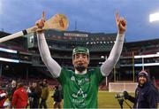 Aer Lingus 18 November 2018; Kyle Hayes of Limerick celebrates after winning the Fenway Hurling Classic 2018 Final match between Cork and Limerick at Fenway Park in Boston, MA, USA. Photo by Piaras Ó Mídheach/Sportsfile
